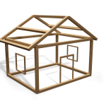 A programming framework is conceptually similar to a construction framework, giving you the basic structures of a house.